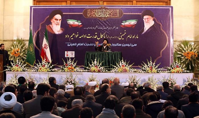 السّيد علي الخميني: نحن نفخر بقائد الثورة الإسلامية