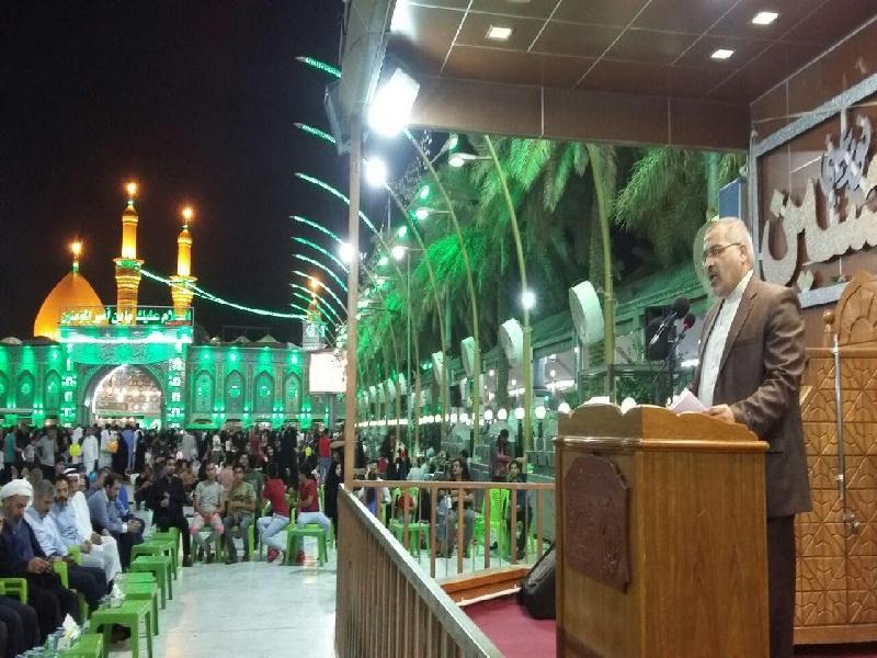 كربلاء المقدسه تستضيف مراسم ذكرى رحيل الامام الخميني (رض)