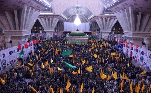 اجتماع كبير لقادة التعبئة في فيلق محمد رسول الله (ص) بمرقد الامام الخميني