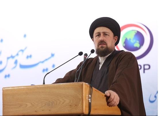 السيد حسن الخميني:  الوفاق والتفاهم هو السبيل الوحيد لمعالجة مشاكل المجتمع