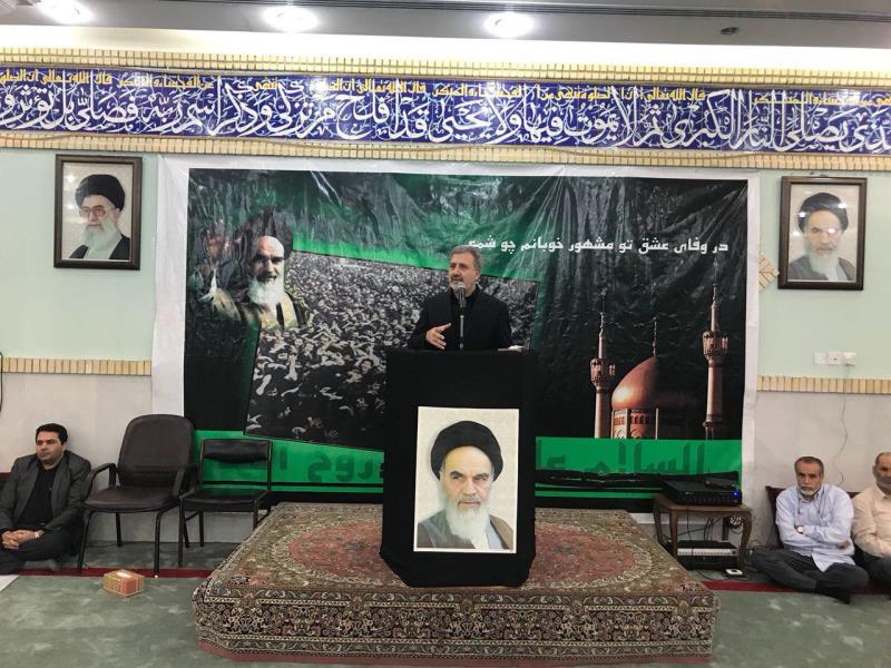 سفير ايران في الكويت:الامام الخميني جعل القضية الفلسطينية قضية العالم الاولى