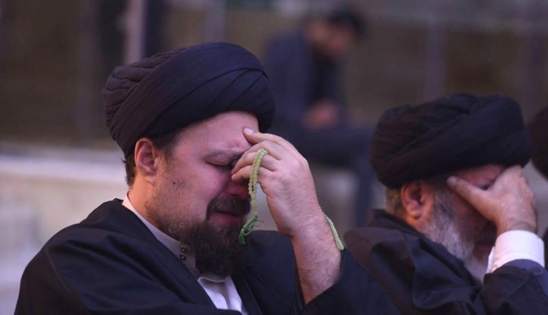 مراسم عزاء استشهاد الامام الرضا (ع) في مرقد الامام الخمینی