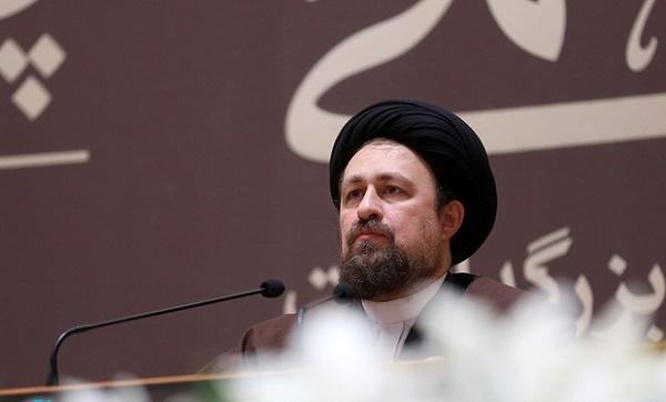 السيد حسن الخميني: مما امتاز به الشيخ رفسنجاني هو الامل
