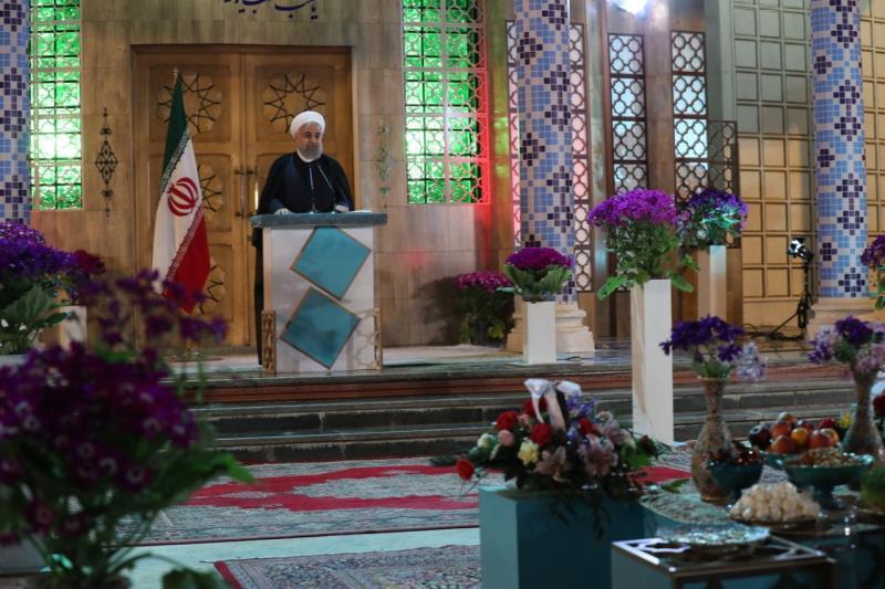 روحاني: الشعب الايراني حقق الى جانب الشعوب في العراق وسوريا ولبنان مزيداً من الاستقرار والامن للمنطقة