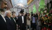 وزیر الخارجیة و سفراء ایران یزورون مرقد الامام الخمینی
