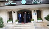 آية الله السيد حسن الخميني يزور مؤسسة اكو الثقافية