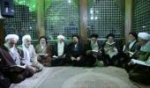 أعضاء مجلس خبراء القيادة يزورون مرقد الامام الخميني الراحل ويجددون العهد معه