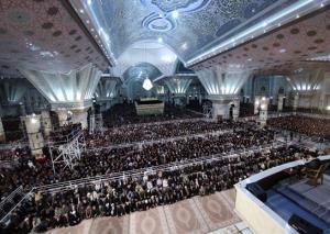 كلمة الامام الخامنئي الموجهة للشباب العرب في مراسم ذكرى رحيل الامام الخميني