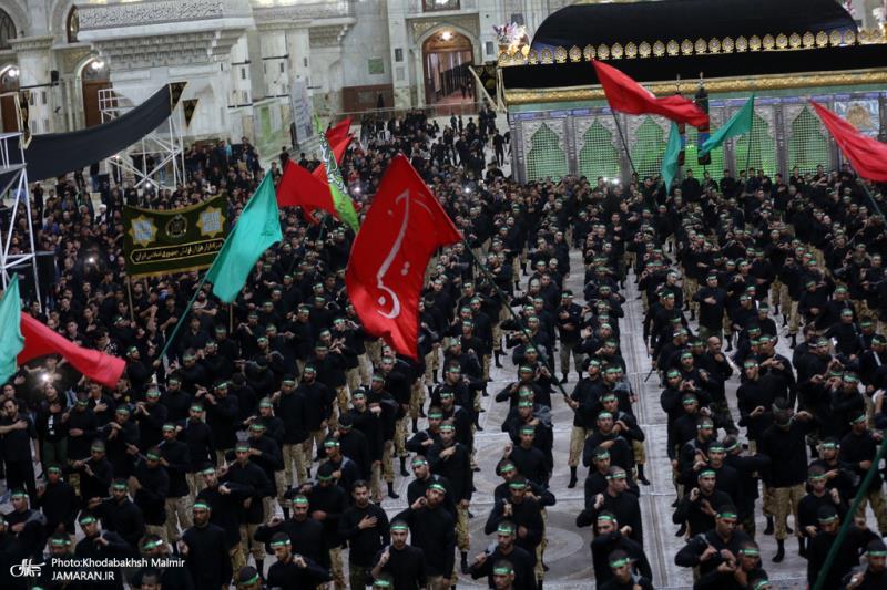 مراسم عزاء تاسوعاء في مرقد الامام الخميني