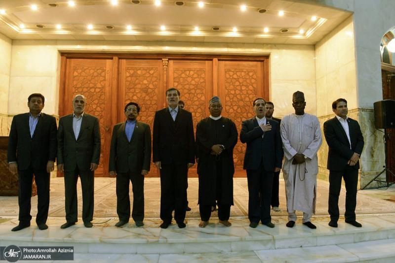 أمين عام منظمة اوبك يزور مرقد الامام الخميني
