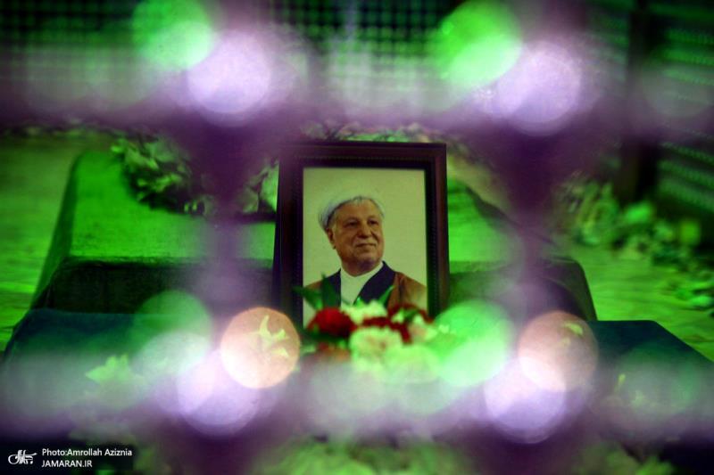 مراسم الذکرى الثانیة لوفاة الشیخ هاشمی رفسنجانی