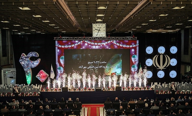 إقامة مراسم الذكرى الاربعين لعودة الامام الخميني في مطار مهرآباد بطهران