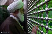 علماء الدین و الحوزات العلمیة فی طهران یجددون العهد مع الامام الخمینی