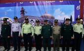 قادة و كوادر القوات المسلحة يجددون العهد مع مبادئ الامام الخميني