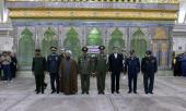 قادة و منتسبي الجيش يجددون العهد مع مبادئ الامام الخميني