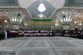 تجديد ميثاق مدراء و موظفي الاغاثة في جمعية الهلال الاحمر الايرانية لاهداف الامام الخميني (قدس سره)