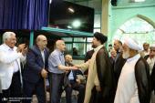 لقاء مجموعة من متقاعدي الرياضة مع السيد حسن الخميني