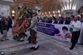 تجديد ميثاق محافظ طهران والعاملين في المحافظة لاهداف الامام الخميني (قدس سره)
