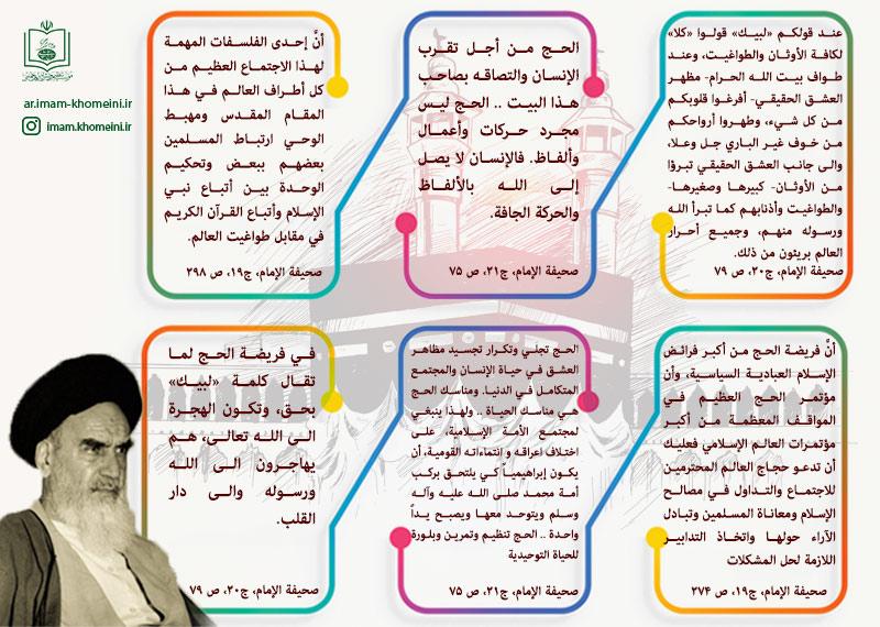 الحج في كلام الامام الخميني (قدس سره)