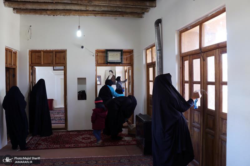 تنظيف مسقط راس سماحة الامام الخميني(قدس سره) في قضاء خمین