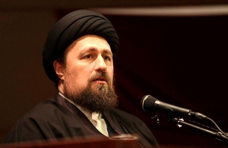 السيد حسن الخميني يدعو بالشفاء العاجل للمرجع السيستاني