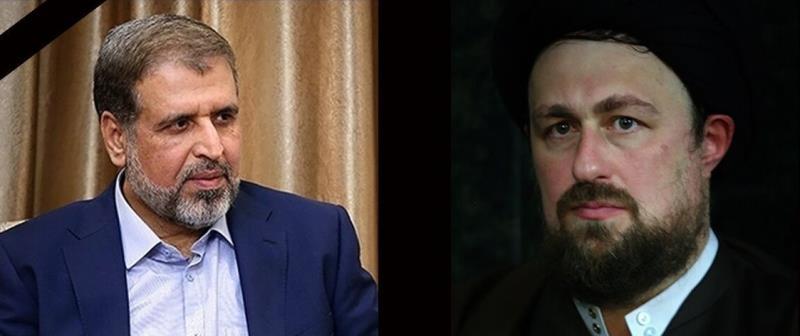 السيد حسن الخميني يعزي بوفاة الامين العام السابق للجهاد الاسلامي