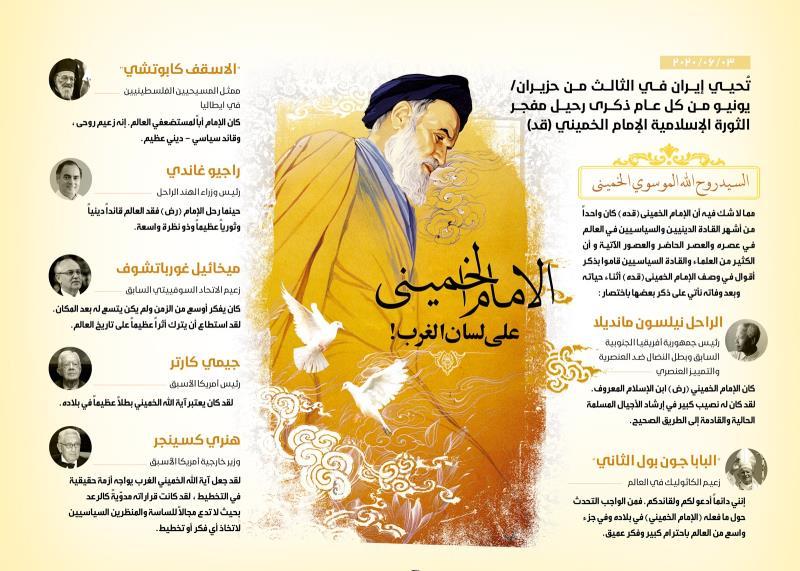 الإمام الخميني (قدس سره) على لسان الغرب!