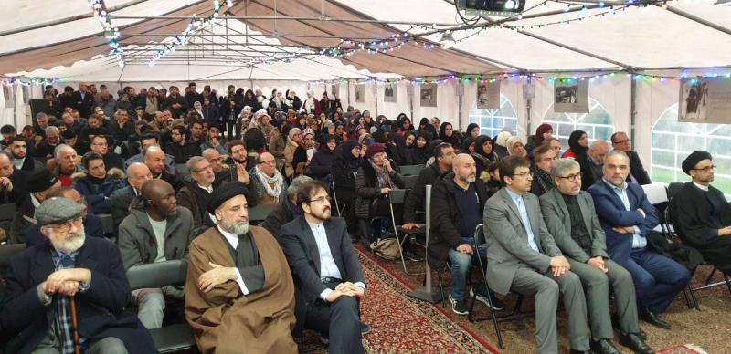 إحياء ذكرى انتصار الثورة الاسلامية و الإمام الخميني في نوفل لوشاتو
