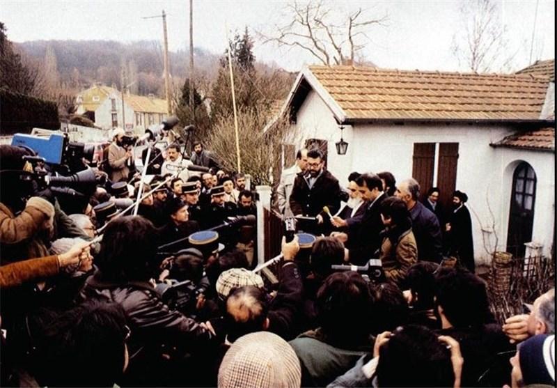 ردة فعل الامام الخميني وجيرانه الفرنسيين حول خبر هروب الشاه؟