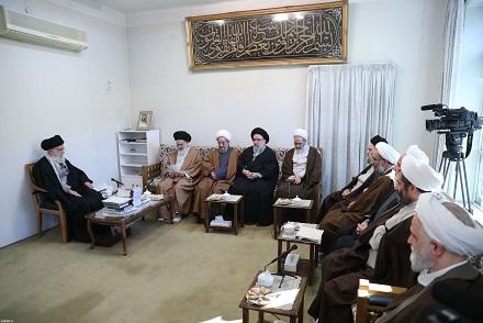 هدف الثورة وتضحيات الإمام الخميني كانا ارساء دعائم سيادة الشريعة