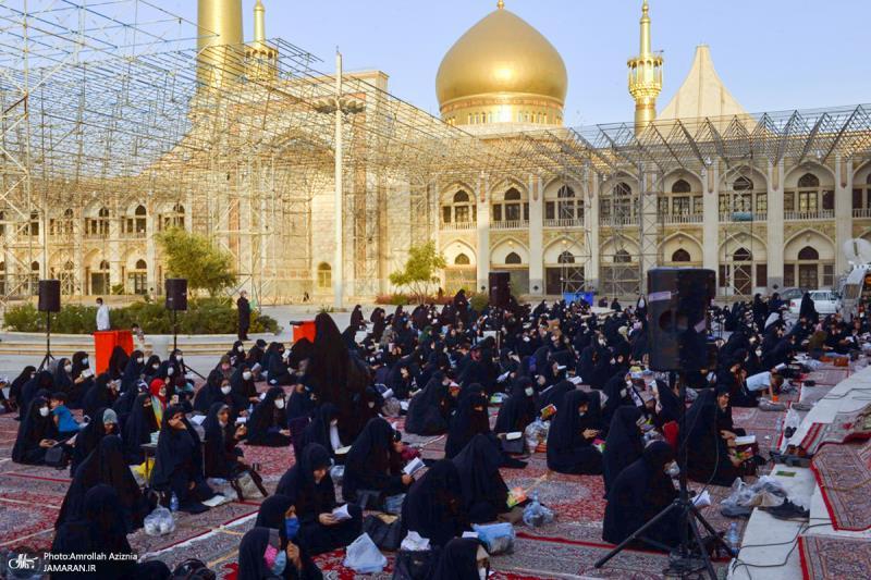 مراسم دعاء عرفة بمرقد الامام الخميني