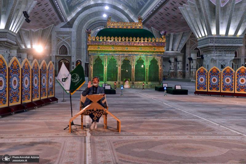 مراسم عزاء ليلة استشهاد الامام الحسن العسكري (ع) في مرقد الامام الخميني (قدس سره)