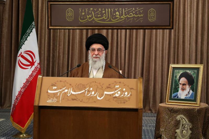 الإمام الخامنئي في يوم القدس: النضال من أجل فلسطين جهاد وفريضة إسلامية لازمة