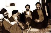 الإمام الخميني و الشهيد بهشتي