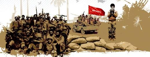 القيادة المعنوية للإمام الخميني فی الدفاع المقدس