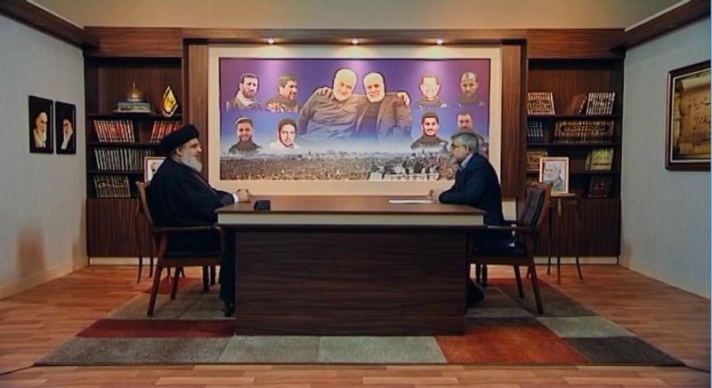 مكتب الحاج قاسم مأخوذ من مكتب الامام الخميني وتوجيهات السيد القائد