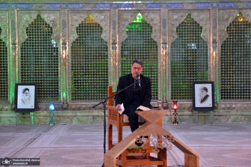 مراسم عزاء ليلة استشهاد السیدة فاطمة الزهراء سلام الله عليها في مرقد الامام الخميني (قدس سره)