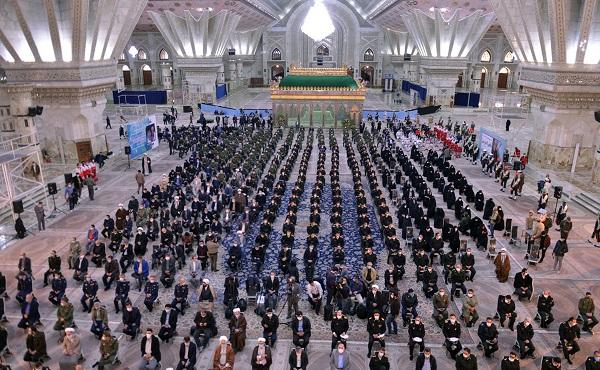 مراسم بدء عشرة الفجر في مرقد الامام الخميني