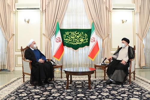 الرئيس روحاني: على الجميع دعم الرئيس المنتخب وحكومته