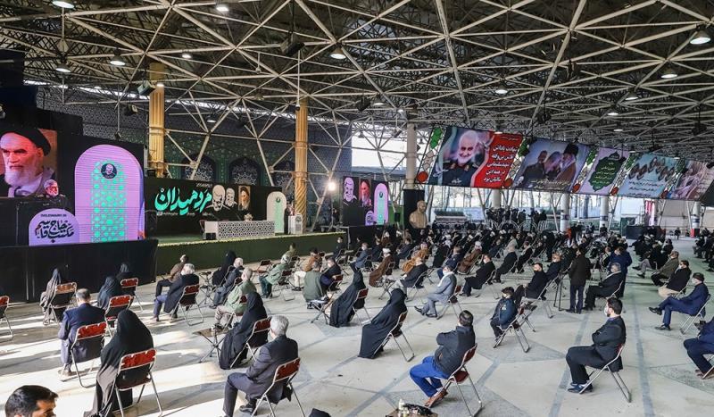 إيران تحيي الذكرى الأولى لاستشهاد القائدين سليماني والمهندس و رفاقهم الأبرار