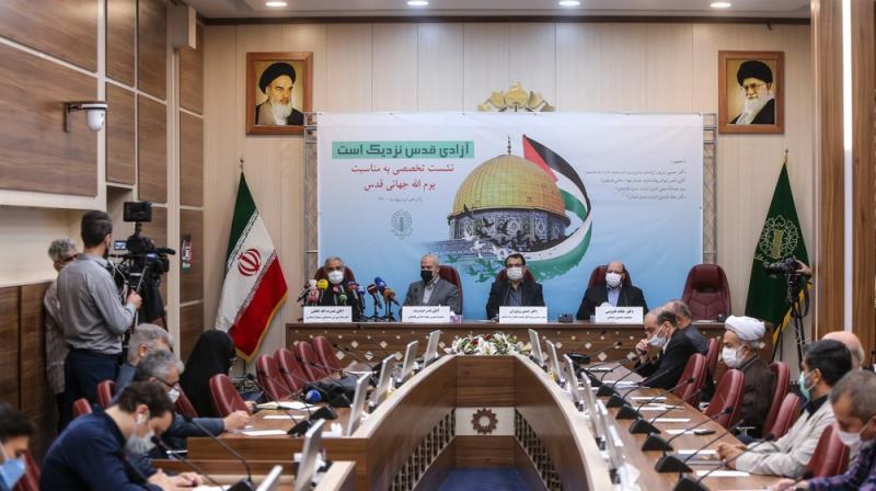 الامام الخميني كان اول مرجع ديني اجاز بالاستفادة من الوجوه الشرعية للدفاع عن الشعب الفلسطيني