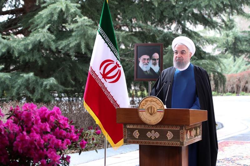 روحاني : الشعب الإيراني يستقبل الربيع بفخر، واعداؤه يغادرون كرسي الحكم بفضيحة