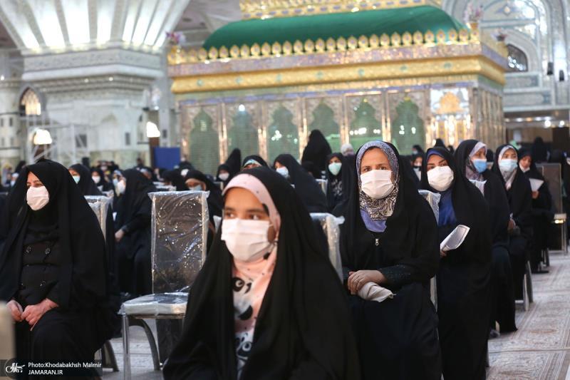 احتفاء يوم ميلاد السيدة النساء العالمين في حرم الامام الخميني (قدس سره)