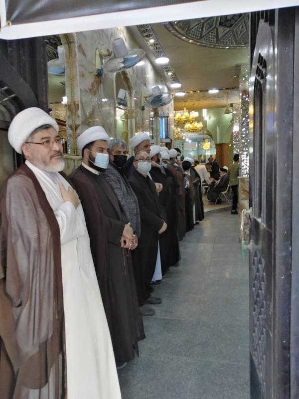 اقامة مجلس الفاتحة بمناسبة رحيل العالم المجاهد حجة الاسلام والمسلمین السيد علي اکبر محتشمي بور