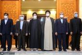 تجديد ميثاق رئيس الجمهورية واعضاء الحكومة لاهداف الامام الخميني (قدس سره)