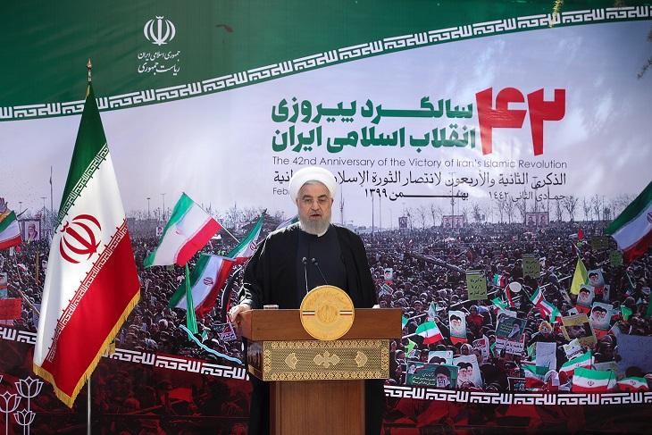 الرئيس روحاني :إيران سجلت انتصارات في مواجهة الضغوط الأمريكية