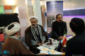 مشارکة مؤسسة تنظیم ونشر تراث الامام الخمینی بمعرض تکنولوجیا المعلومات بطهران