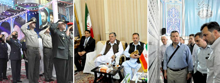 The Presence of Notable Political and Scientific Figures from Different Countries at the Holy Shrine of Imam Khomeini