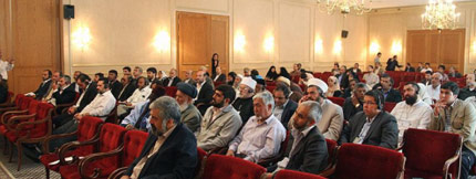 The Participation of the Foreign Guests of Imam Khomeini's Commemoration Committee in Two Conferences about Imam Khomeini and Islamic Awakening