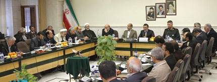 The committee of honoring the 23rd anniversary of Imam Khomeini's demise held their first session